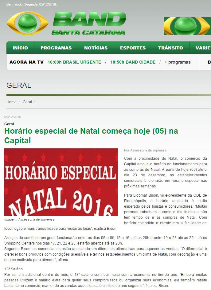 600bda344b Clipping Diário - 06 12 2016 - - CDL de Florianópolis