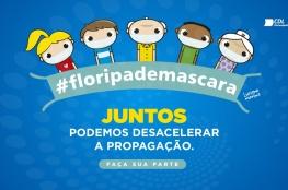 CDL de Florianópolis lança campanha Floripa de Máscara com ilustrações do artista Luciano Martins