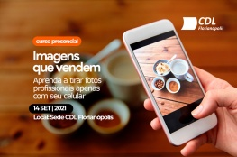 Curso presencial: Como fotografar produtos para as redes sociais utilizando o celular