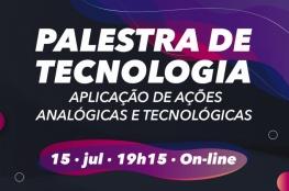 Inscrições abertas para a palestra on-line sobre aplicação de ações analógicas e tecnológicas