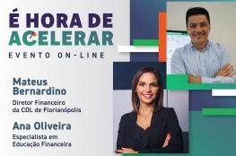 CDL de Florianópolis e LIDE SC promovem evento digital gratuito sobre Educação Financeira