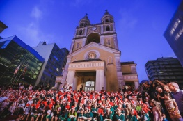 Abertura do Natal terá flocos de neve e projeção mapeada no Centro da Capital