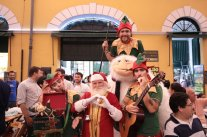 Natal da Magia - Mensageiros de Natal no Mercado Público