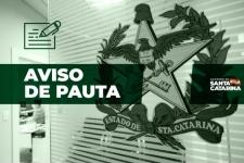 AVISO DE PAUTA: Governador assina convênio para construção da Avenida Beira-Rio Forquilhas, em São José