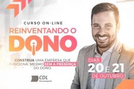 CDL de Florianópolis promove o curso on-line Reinventando Dono