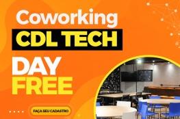 Coworking CDL Tech oferece 'Day Free' para degustação dos usuários