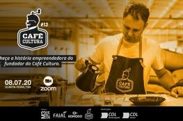 CDL Jovem de Florianópolis recebe o CEO da rede de cafeterias Café Cultura