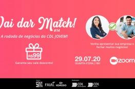 CDL Jovem de Florianópolis promove rodada de negócios nesta quarta-feira (29)
