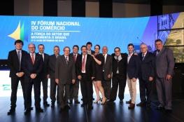 Diretoria da CDL participa do IV Fórum Nacional do Comércio
