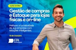 CDL de Florianópolis promove curso on-line sobre gestão de compras e estoque