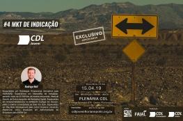 CDL Jovem de Florianópolis promove evento gratuito de Marketing de Indicação