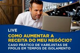 Como aumentar a receita do meu negócio é tema do curso on-line da CDL de Florianópolis