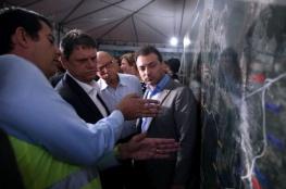 Ministro de Estado da Infraestrutura visita obras do Contorno Viário na Grande Florianópolis