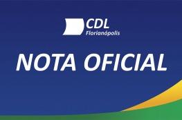 Nota Oficial: CDL de Florianópolis apoia ações empreendidas pela Guarda Municipal de Florianópolis no episódio envolvendo Senegalês