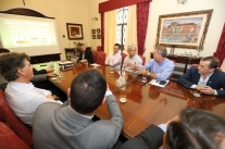 Governador recebe presidente da CDL para tratar da revitalização da Bocaiúva