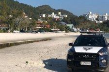 Guarda Municipal fiscaliza praias e registra aglomerações em Florianópolis