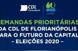 CDL de Florianópolis recebe candidatos a prefeito para entrevista exclusiva