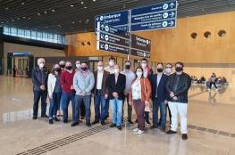 Comitiva da CDL de Florianópolis faz tour experience no Aeroporto Hercílio Luz